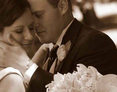 wedding-couple-sepia-cedar-creek-estate