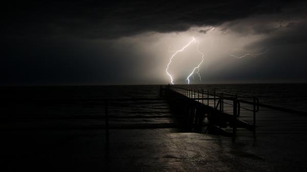 1261-stormy-night-on-fishing-pier-wallpaper-wallchan