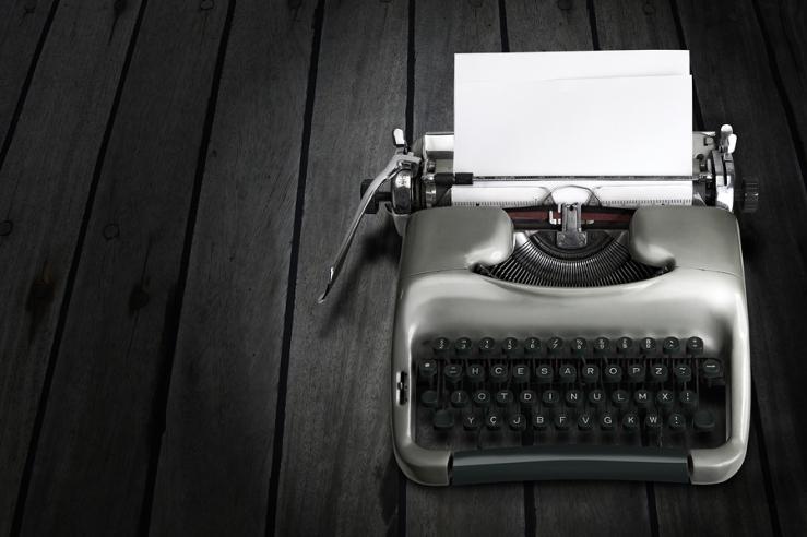 bigstock-Antique-Typewriter-469431011
